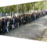 Ételosztás Budapesten 2012-ben    ...hiszen Magyarország jobban teljesít